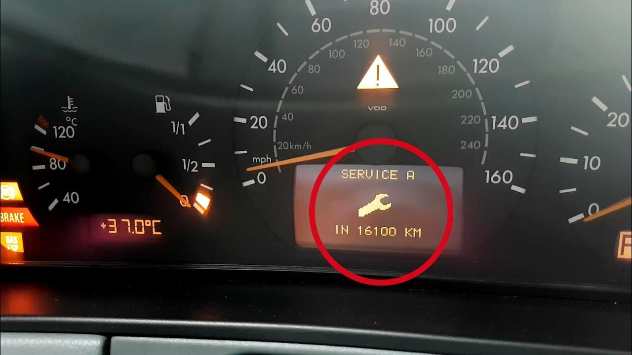 Сервизни интервали Mercedes